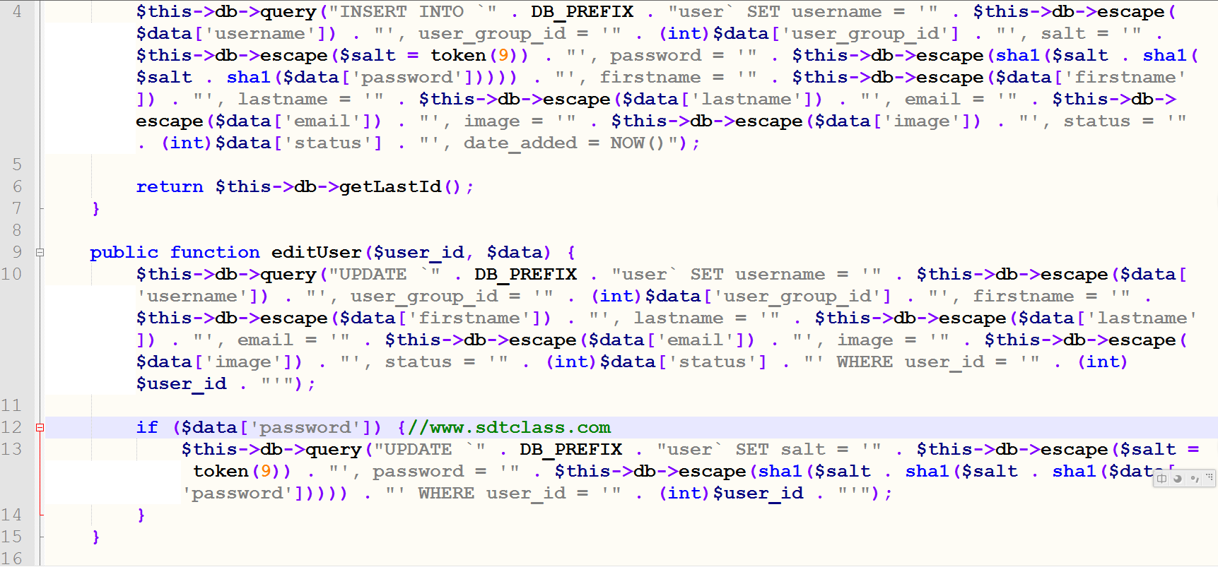 opencart技巧-三个方案修改管理员密码